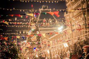 ciudades adornadas de navidad en canandá
